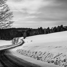 Tim Kirchoff - Mid-Winter Road B-W