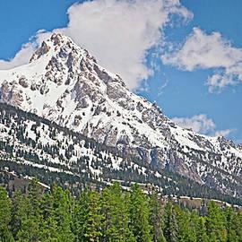 Middle Teton Panorama by Gene Norris