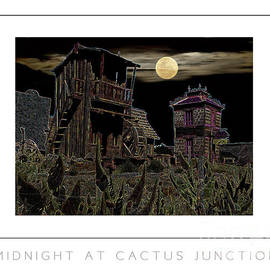 Mike Nellums - Midnight at Cactus Junction poster