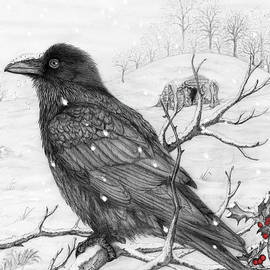 Midwinter Raven by Philip Harvey