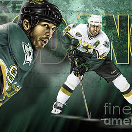 Mike Modano by Don Olea