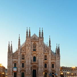 Milan Cathedral Square Panorama by Songquan Deng