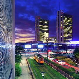 Alfio Finocchiaro - Milan night view