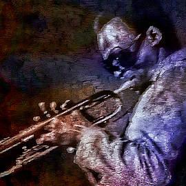 Miles Davis Jazz Legend 1969 by Ian Gledhill