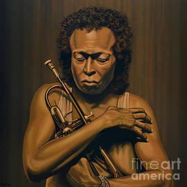 Paul Meijering - Miles Davis Painting