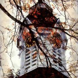 Janine Riley - Milford Clock Tower vintage