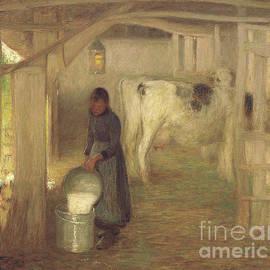Milking Time  Early Morn - William Edward Stott