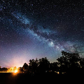 Milky Way at Howes Lake by Dustin Goodspeed