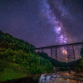 Mark Papke - Milky Way At Letchworth