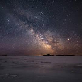 Jakub Sisak - Milky Way in March, Sturgeon Bay