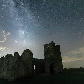 Milky Way over Knowlton Church - Joana Kruse