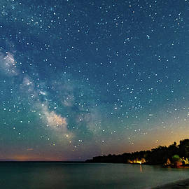Randy Scherkenbach - Milky Way Over The Bay