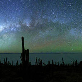 James Brunker - Milky Way Panoramic and Green Airglow