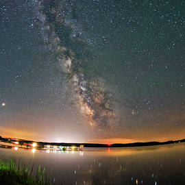 Milky Way Reflections  by Dustin Goodspeed