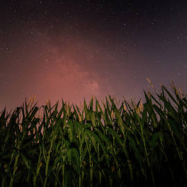 Dan Sproul - Milky Way Rising Over Farm Field