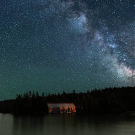 Marty Saccone - Milky Way Sky at the Old Smokehouse