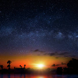Mark Andrew Thomas - Milky Way Sunrise