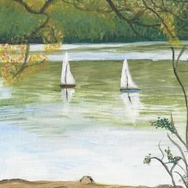 Mill Lake Sails by Nicki Bennett
