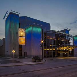 Sven Brogren - Milwaukee performing arts center at dusk