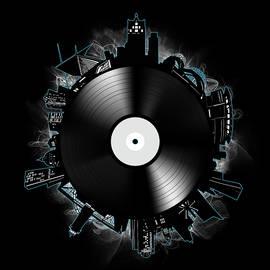Bekim Art - milwaukee skyline vinyl 11