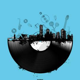 Bekim Art - milwaukee skyline vinyl 2