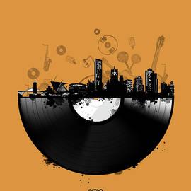 Bekim Art - milwaukee skyline vinyl 3
