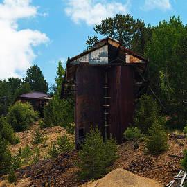 Mines Of Cripple Creek Colorado by Steve Krull