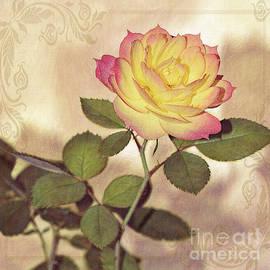 Kaye Menner - Miniature Rose Vintage Style by Kaye Menner