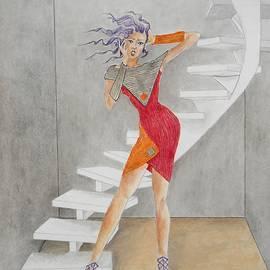 Jayne Somogy - Minimalist Madness -- Whimsical Fashion Drawing