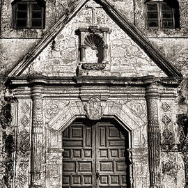 Mission Concepcion Front - Toned BW by Stephen Stookey