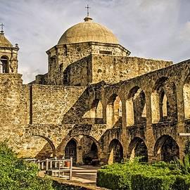 Mission San Jose - San Antonio Texas USA by Tony Crehan