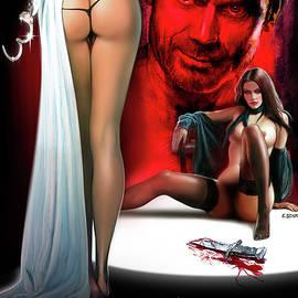 Mister Dissolute Poster B by Mark Baranowski