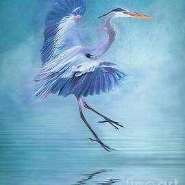 Misty Blue by Brian Tarr