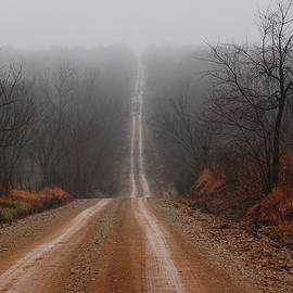 Audie T Photography - Misty Country Road