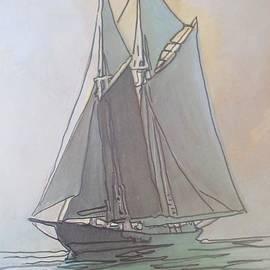 John Malone - Misty Marine Art