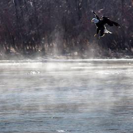 Randy Scherkenbach - Misty Water Eagle