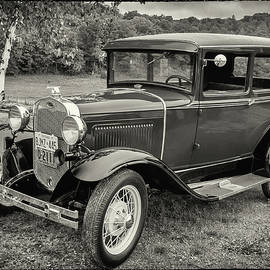 Model A Ford in Monochrome by Andrew Wilson