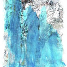 Sharon Cummings - Modern Abstract Art - Blue Essence - Sharon Cummings