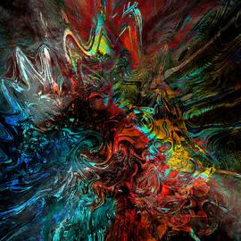 Abstract Angel Artist Stephen K - Mohawk Warrior