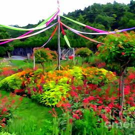 Mohonk Mountain House Gardens by Ed Weidman