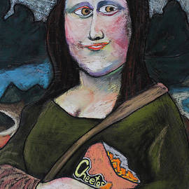 Mona on break by David Hinds