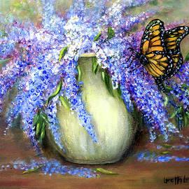 Monarch of the Lilacs by Loretta Luglio