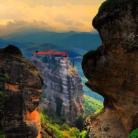 Yuri Hope - Monastery Of Varlaam. Greece