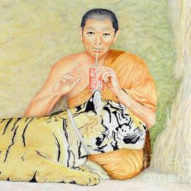 Eva Trubacova - Monk and Tiger