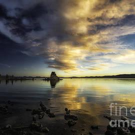 Mono Lake Sunrise 1 by Timothy Hacker