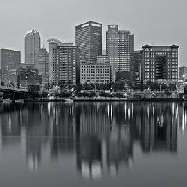 Monochrome Cityscape 2016 by Frozen in Time Fine Art Photography