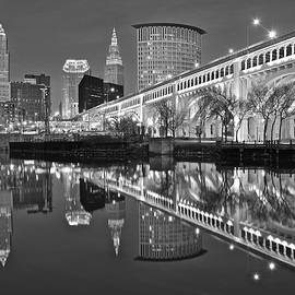 Frozen in Time Fine Art Photography - Monochrome Reflection