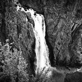 Monochromic Waterfall by David Resnikoff