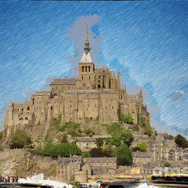 Mont Saint - Michel by Jack Torcello