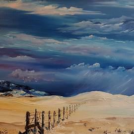 Montana Colliding Storm Fronts       1 by Cheryl Nancy Ann Gordon